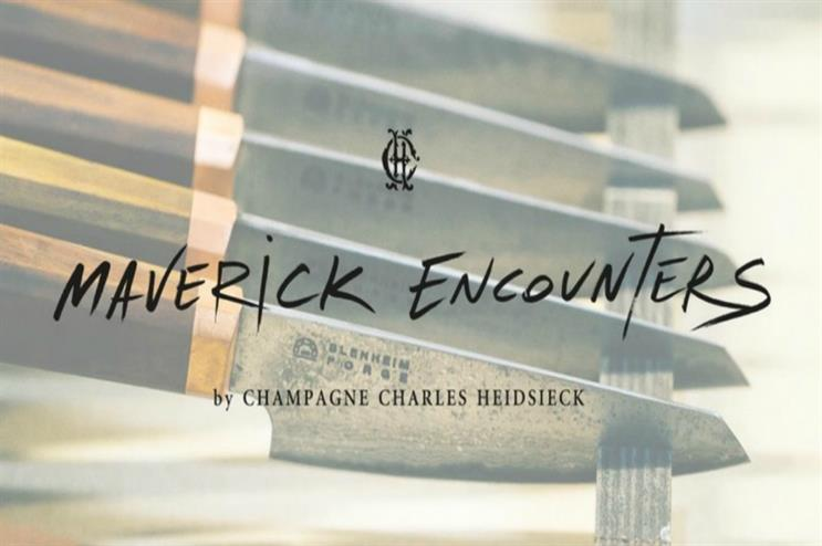 Charles Heidsieck to kickstart 'Maverick Encounters'