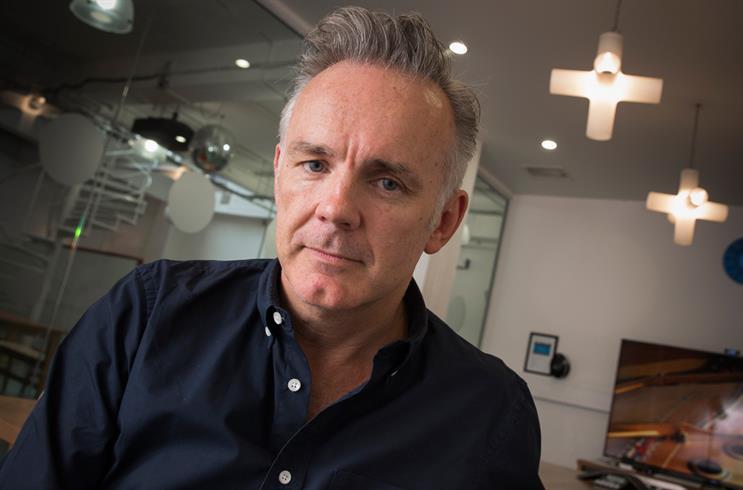 Neil Christie, managing director at Wieden + Kennedy