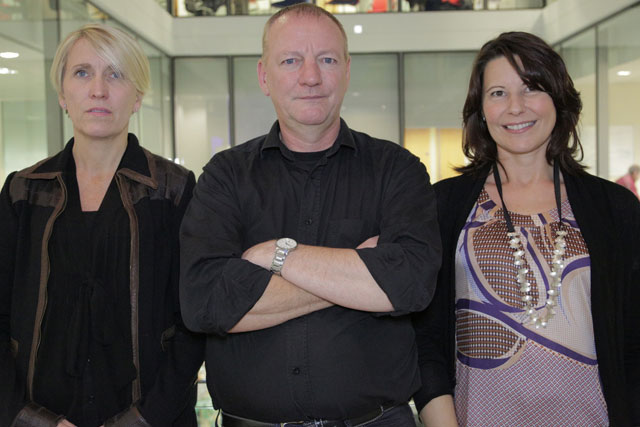 Rapp: Tina Christison, Graham Sharp and Jen Musgrave