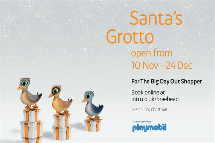 Playmobil: partnering with Intu for Christmas grotto experience