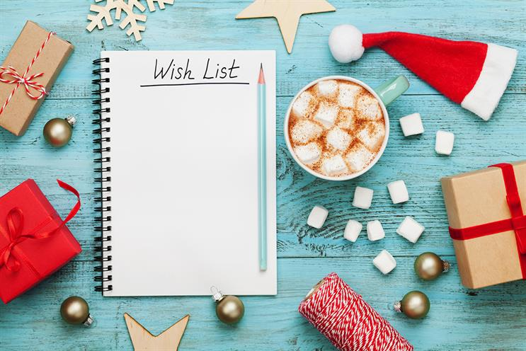 What do your customers want most for Christmas?