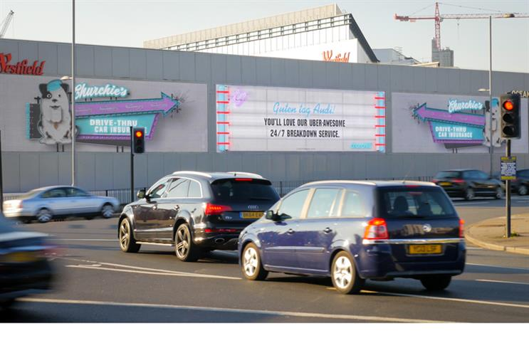 "From the idea to the big screen: ""Churchie's Drive-Thru Car Insurance"""