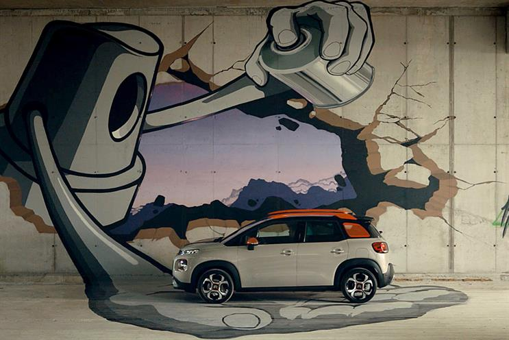Citroën C3: Facebook users are being invited to help shape the model's TV advertising