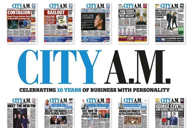 Things we like: City AM's birthday makeover
