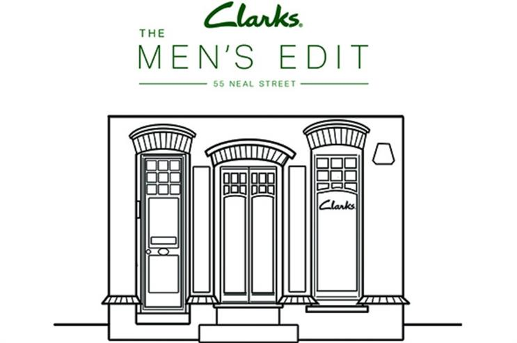Clarks to open first men's-only store