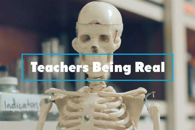 Droga5 created a Clearasil ad called 'High school never ends for teachers'