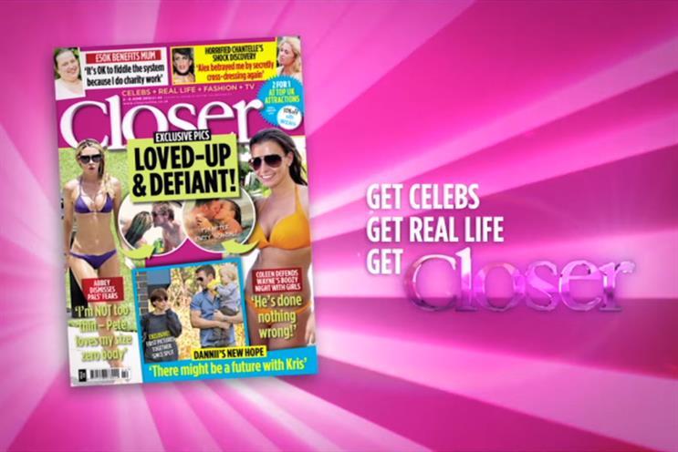 Closer: the7stars handles media for parent Bauer Media