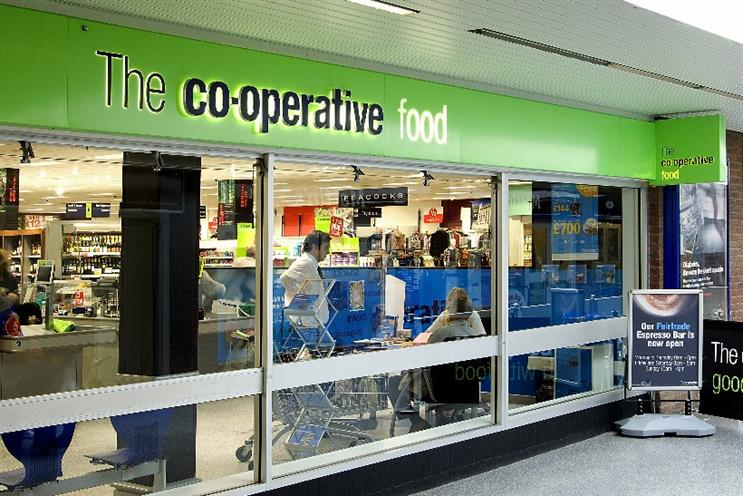 The Co-operative: UK's fastest-growing non-discount supermarket in three months to end of January 2016