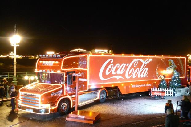 Coca-Cola will visit 46 stops on it Christmas Truck Tour this year