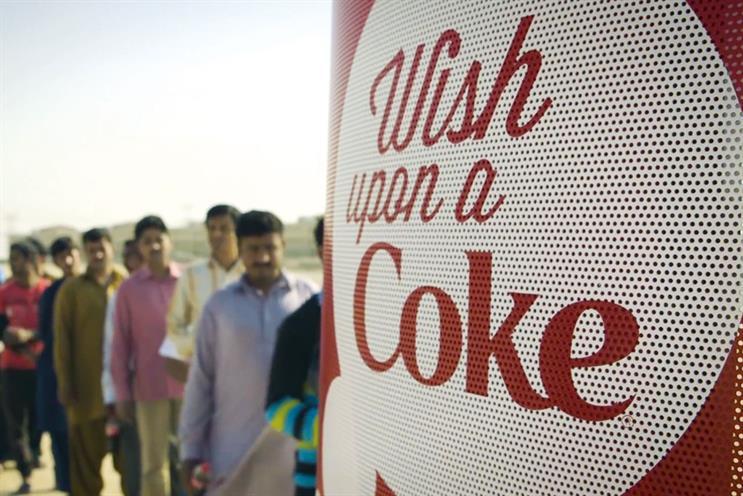 'Wish booth': Coca-Cola, Y&R Labstore Dubai and Y&R Dubai