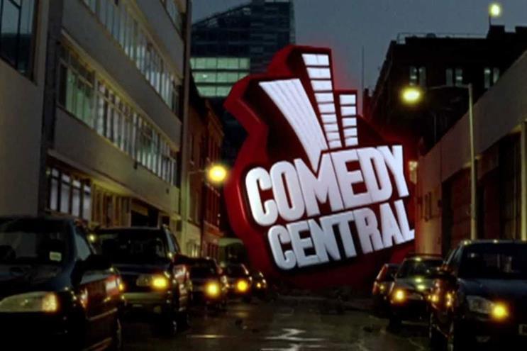 Comedy Central: PHD handles media for its parent, Viacom
