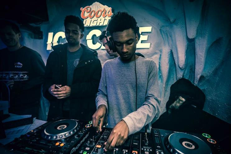 Coors Light takes DJ competition to Manchester