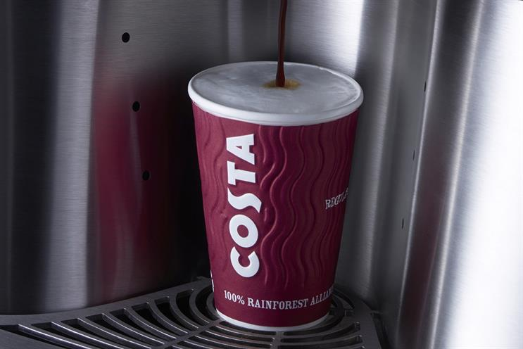 Costa: launched ready-to-drink products this year