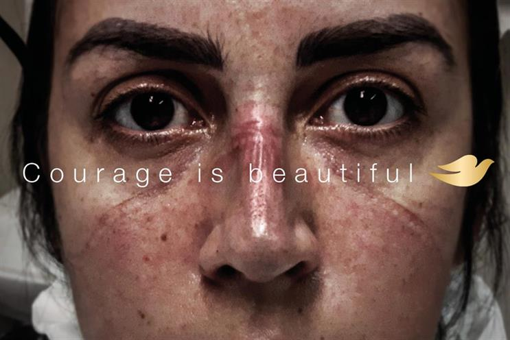 """Dove's """"Courage is beautiful"""": won two golds"""