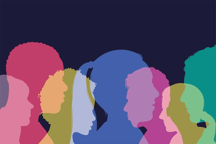 Diversity: white men almost three times as likely to be in senior position as women of colour