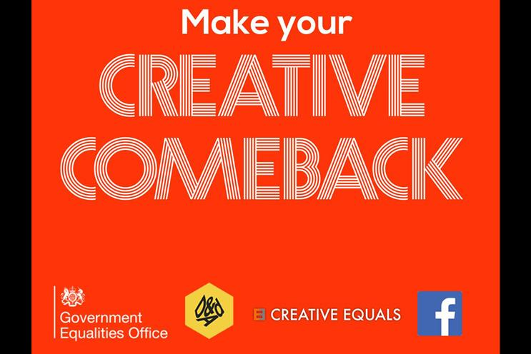 Creative Equals calls for more support for returners