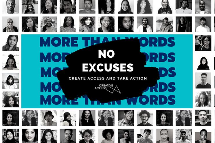Creative Access campaign calls on businesses to commit to diverse talent