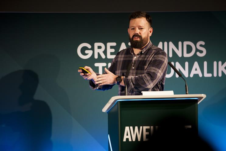 Dan Cullen-Shute at Advertising Week Europe