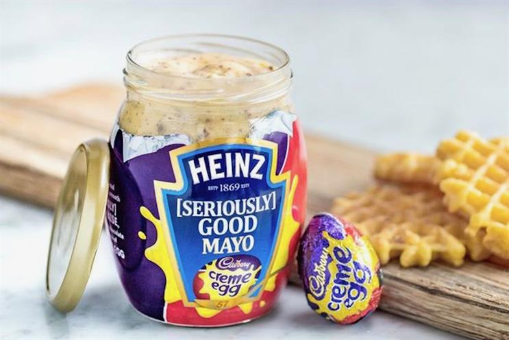 Heinz [Seriously] Good Cadbury Creme Egg Mayo: Heinz and Cadbury joint effort