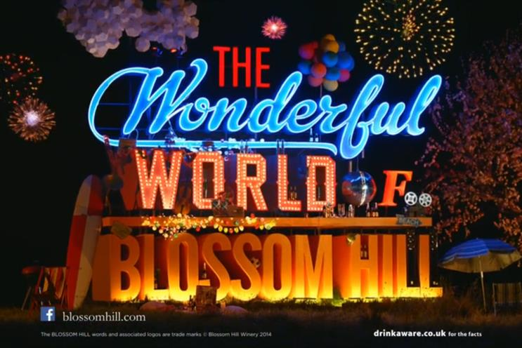 Isobel previously created ads for Blossom Hill