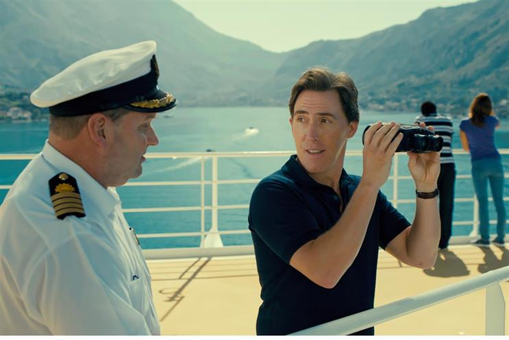 P&O Cruises: Rob Brydon has featured in ads since 2014