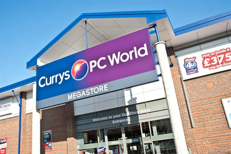 Dixons Carphone: helps Walker Media remain top of the table