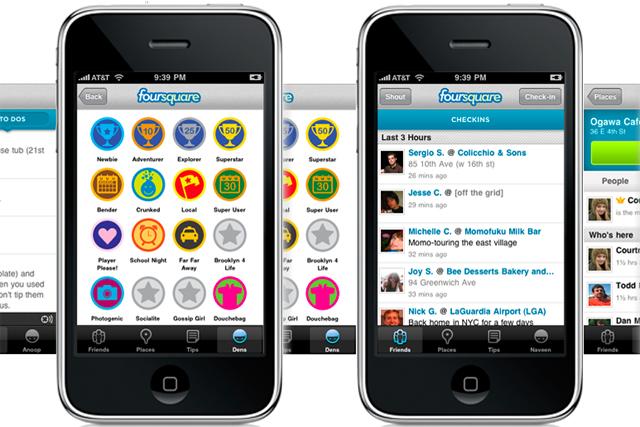 Foursquare: location based service uses data to create brand ambassadors