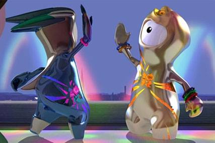 Wenlock and Mandeville: London 2012 mascots