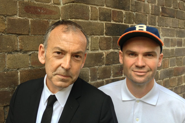 Stuart Archibald (l) and Bram Williams