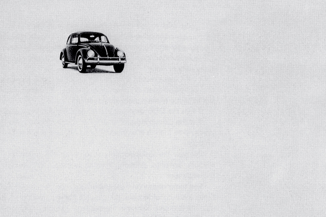 Volkswagen's iconic 'Think Small' ad