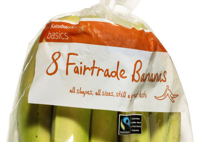 Sainsbury's: stocks more than 800 Fairtrade items in its stores