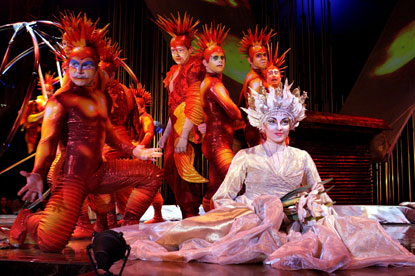 Cirque du Soleil…seeks shops for integrated ad account