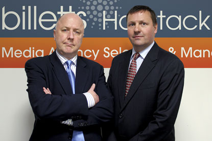 Manning (l), Thompson…oversaw the launch