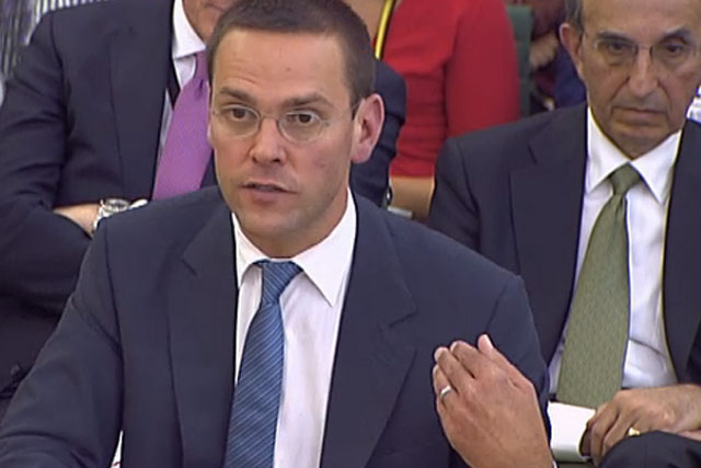 James Murdoch: could be recalled to parliament