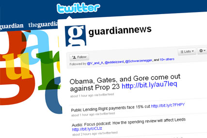 Twitter: the Guardian creates guide for journalists