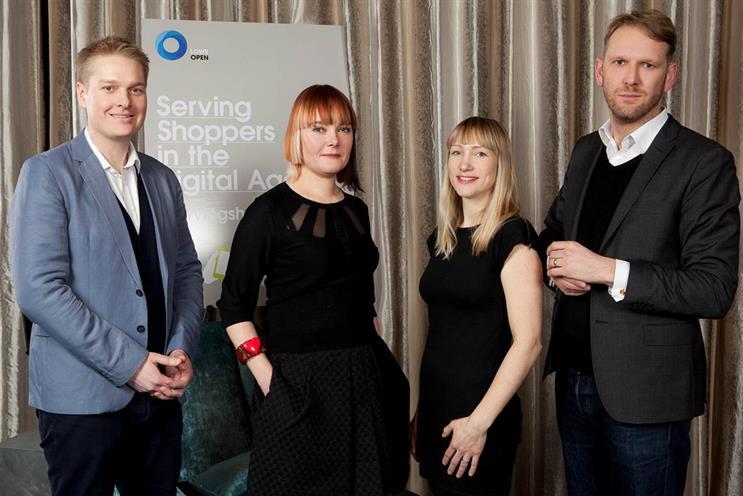 L-R: Anthony Hopper, Becky Power, Hannah Partridge, Simon Goodall