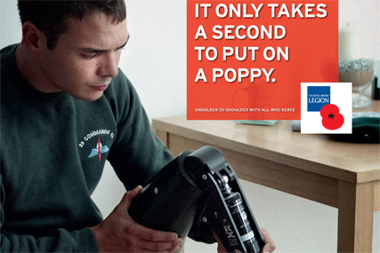 Royal British Legion: launches Poppy Appeal