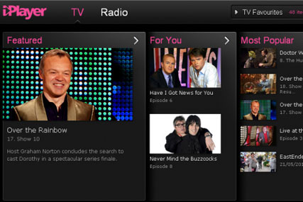 BBC iPlayer: latest version incorporates new social functions