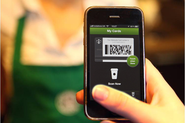 Starbucks introduces mobile payments to the UK