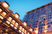 Intercontinental...hotel chain in media review