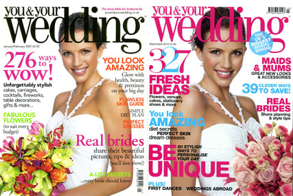 You & Your Wedding magazine believes in the art of recycling