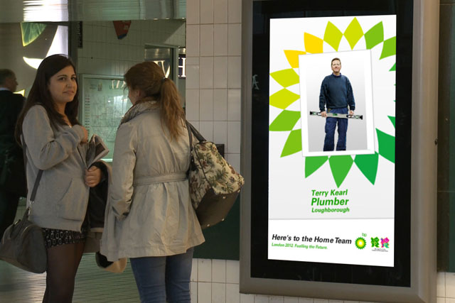 BP: 'here's to the home team' campaign