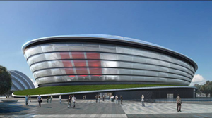 An artist's impression of The Hydro