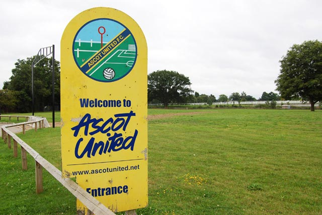 Ascot United: club to feature in first football match streamed live on Facebook