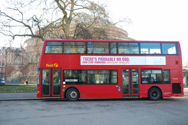 Atheists clamber on board in Dawkins-driven ad campaign