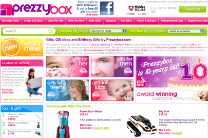 Prezzybox Appointed Artemis8 For 10th Anniversary Online Campaign