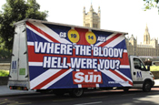 The Sun...poster ad banned