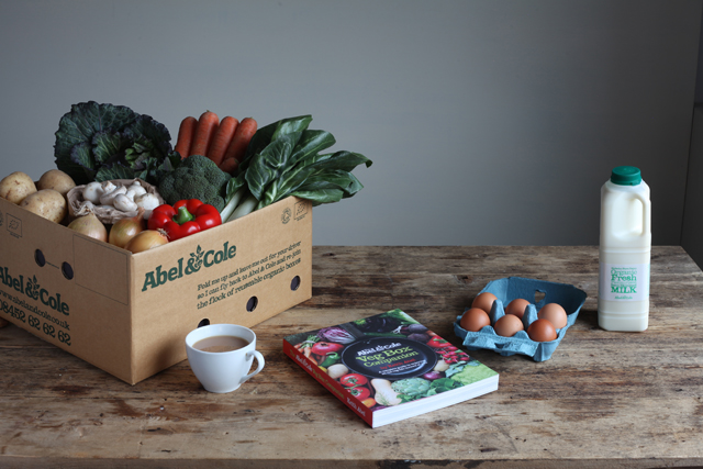 Groceries - Abel & Cole delivers at last as demand for vegetable and fruit boxes soars