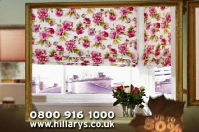 Hillarys Blinds: appointed Carat Manchester to handle media planning and buying