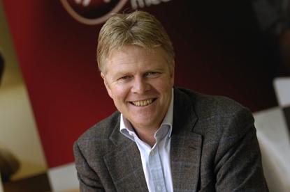 Neil Berkett...joining Guardian Media board